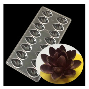 Lotus Shape Chocolate Baking Ice Mould 3D Food Chocolate Mould Kitchen Tools by GOOTRADES