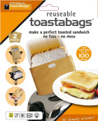 Toastabags 100 Use Twin Pack, Gold X 2