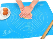 TININNA Multipurpose Silicone Baking Mat Large Food Grade Reusable Nonstick pad Silicone Pastry Mat Nonstick Baking Mat Table Mat for Housewife, Cooking Enthusiasts