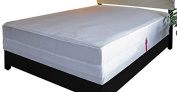 L'COZEE Assure Sleep, Waterproof Mattress Protector/Bed Bug Proof Zippered Mattress Encasement, Mattress Cover, Complete Protection Against Insects, Bed Bugs and Dust Mites, 150cm L x 200cm W, Queen