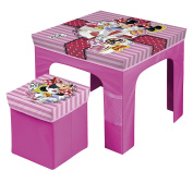 Minnie Mouse – Set table and stool folding table