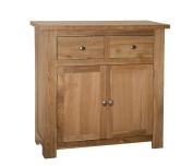 Ascott Oak 2 Drawer 2 Door Sideboard