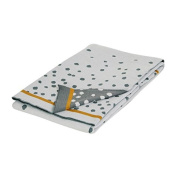 Done By Deer Cosy Grey Blanket Dots Happy Dots Baby Blanket 80 x 100 cm