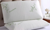 Polyurethane Foam Bamboo Pillow Head Neck Support Anti-Allergy & Anti Bacterial Orthopaedic Pillow