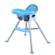 OAKOME Highchair Baby Feeding Chair Multifunctional Baby High Low Chair Rocking Chair with Tray/Safety Belt