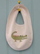 Petra Boase ltd Crocodile Bib by Petra Boase ltd