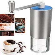 Bazaar Portable Handheld Coffee Grinder Outdoor Mini Stainless Steel Manual Coffee Bean Grinder Maker