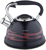 Klaus Hill 2.7 Litre Kettle Whistle Kettle Kettle Stainless Steel Induction Whistling Kettle Top Novelty Magic Change Colour Change KB – 7245