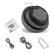 Mini Portable Waterproof Wireless Bluetooth Speaker For Phone Tablet PC Grey~~