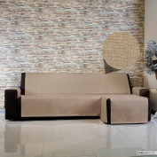 Live It With Peninsula – 3 Seater Sofa Chaise Longue DX, Taupe