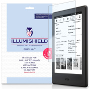 3x iLLumiShield Blue Light Filter Screen Protector for Kindle