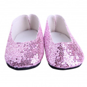 American Girl Dolls Shoes 46cm ,Cheap American Girl Dolls Flash Powder Dress Shoes Baby Toys VNEIRW