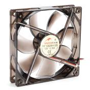 DC 12V 0.18A 120x120x25mm 7 Vanes Coolant Cooler Fan for Computer w Blue Lamp
