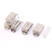 Unique Bargains Furniture Cupboard Stainless Steel Magnetic Catch Stopper Latch 54mm Length 6pcs