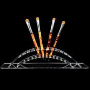 Beauticom 12 Slot Clear Acrylic Brush/Pen Holder