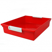 5.7l RED TATTLE TRAY W LABEL HOLD
