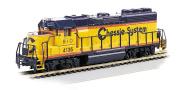 Bachmann 63517 H0 Diesel EMD GP40 – Standard DC – Chessie System # 4135