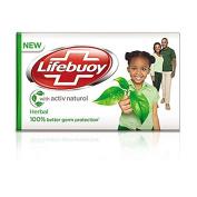 Lifebuoy Herbal - Soap Bar with Naturol * 175 g by Lifebuoy
