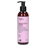 Najel Liquid Aleppo Soap with Organic Damascus Rose Water 200g