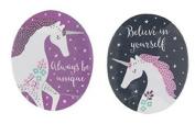 Two Pretty Unicorn Nail Files