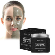 Dead Sea Mud Mask, 100% Natural Purifying Facial Mask, Treatment of Oily Skin, Acne, Blackheads, Pores Minimizer, Reduces Wrinkles, Cleaning & Nourishing Face, 260ml By Pawaca