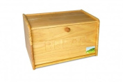 Homion® Traditional wooden bread bin - Drop down front Classic Style