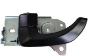 PT Auto Warehouse KI-2550A-FL - Inner Interior Inside Door Handle, Black - Driver Side Front