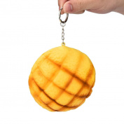 Decompression Toys, HARRYSTORE Squishy Simulation Pineapple Bun Super Slow Rising Scented Squishies Relieve Stress Toy Key Chains