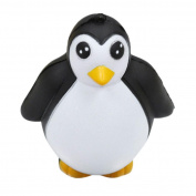 Squishies Penguin Stress Relief Toys, HARRYSTORE Squishy Slow Rising Kawaii Animal Scented Slow Rising Toy Key Chain Charm Pendant Strap Kid Gift