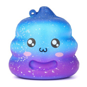 Stress Reliever Toys, HARRYSTORE Squeeze Crazy Poo Squishy Slow Rising Decompression Toy for ADD ADHD Phone Strap
