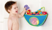 BrilliantDay Mesh Bath Toy Organiser + 4 Ultra Strong Hooks - The Perfect Net for Bathtub Toys and Bathroom Storage#3