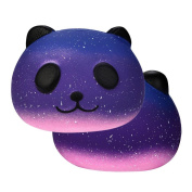 Galaxy Cute 10cm Panda Baby Stress Reliever Stress Toys, Luoluoluo Galaxy Cute 10cm Panda Baby Cream Scented Squishy Slow Rising Squeeze Kids Toy Decompression Squeeze Toys Lishy Squishy Jumbo Cartoon Stress Reliever Squeeze Toys For Kids Adults