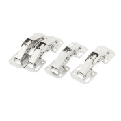 Cabinet 90 Degree Hydraulic Self Close Half Overlay Concealed Inset Hinge 4pcs