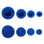 LJSLYJ Silicone Cupping Set for Chinese Cupping and Massage