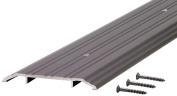 M-D Ultra Fluted Saddle Threshold, 180cm L x 1.3cm W x 13cm H, Aluminium