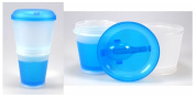Cereal To Go Cereal Cups Mug with Spoon and Insulated Milk Cooling Compartment for on the go
