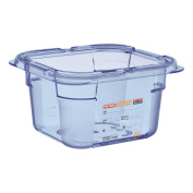 Airtight Container GN1/6 Araven Blue 100 mm