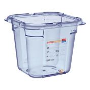 ABS BPA Free Airtight Container Blue Araven GN 150 mm/6