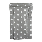 My Babiie Baby Waterproof Changing Mat - Grey Star