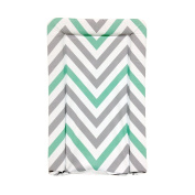 My Babiie Baby Waterproof Changing Mat - Mint Chevron