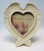 Shabby Chic Angel Wings Photo Frame