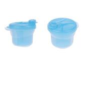 Baoblaze 2Pcs 270 ML Baby Food Powder Milk Dispenser Container/Snack Cup BPA Free