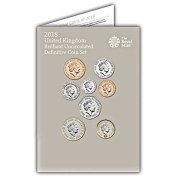 The 2018 United Kingdom Brilliant Uncirculated Definitive Coin Set The Royal Mint 2018 Coin Set