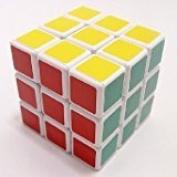 Zantec 3x3x3 Puzzle Cube White Wind Series Brain Teaser Speed Cube Puzzle