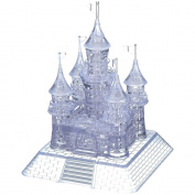 StillCool 3D Crystal Jigsaw Puzzle with Light-Up Musical DIY Castle Educational Toys for children