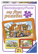Ravensburger Puzzle 06944 Waste Removal Ambulance, Tow Truck