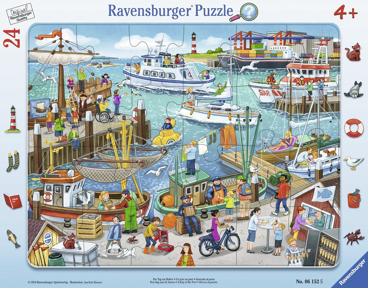 Jigsaws & Puzzles Ravensburger Puzzle in a Frame 06160