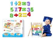 Wood Computation Study Box Wooden Educational Toy uk seller