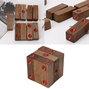 Kofun Dice Cube Mould Brain Jigsaw Building Blocks Puzzles Wooden Toys