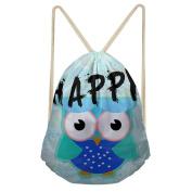 Showudesigns Funny Design Men Women Drawstring Bag Kids String Daypack Reusable